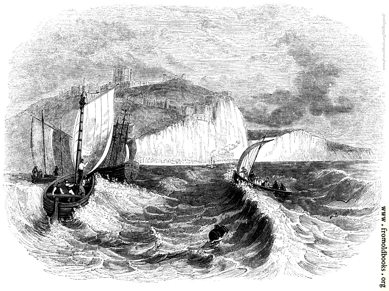 [Picture: 90.—Dover Cliffs.]