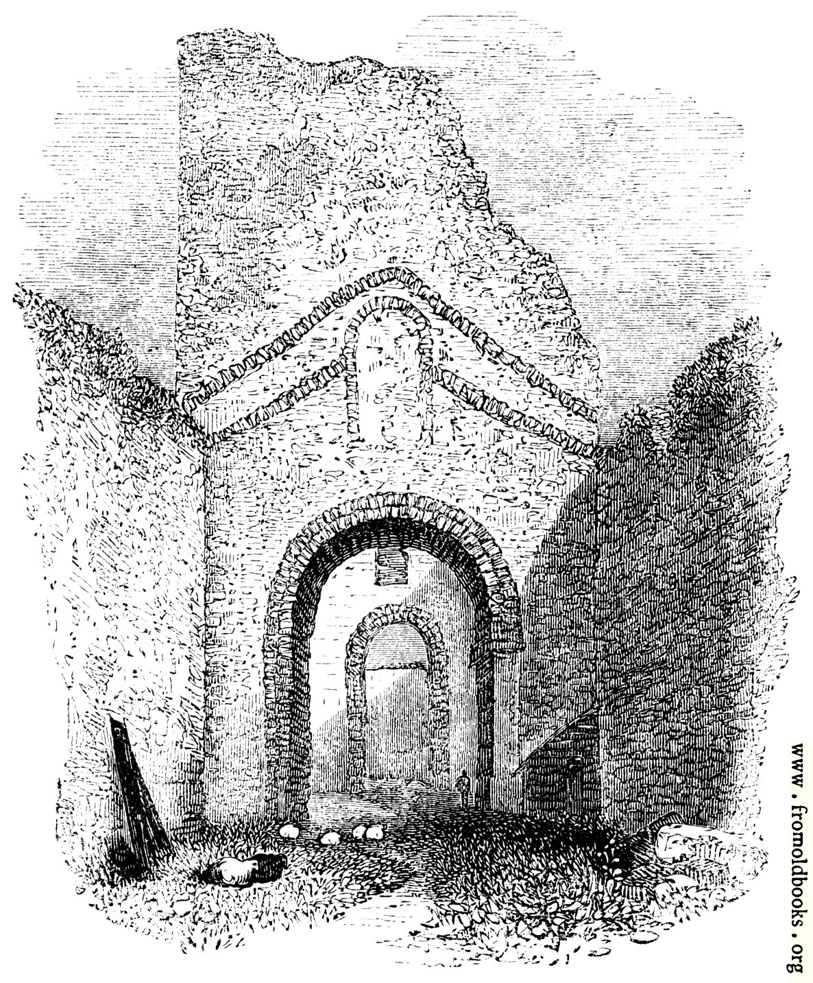 [Picture: 91.—Roman Church in Dover Castle]