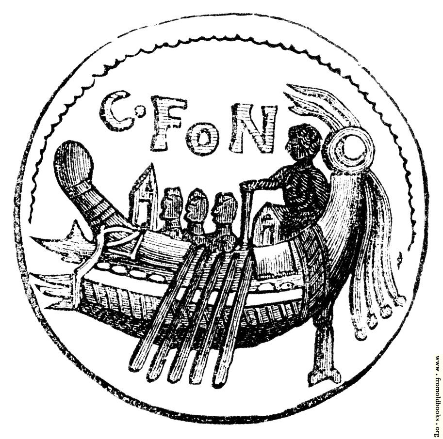 [Picture: 93.—Roman Galley.]
