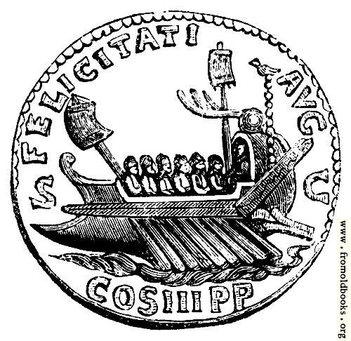 [Picture: 95.—Roman Galley]