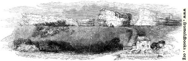99.—Richborough.  General View, from the East.