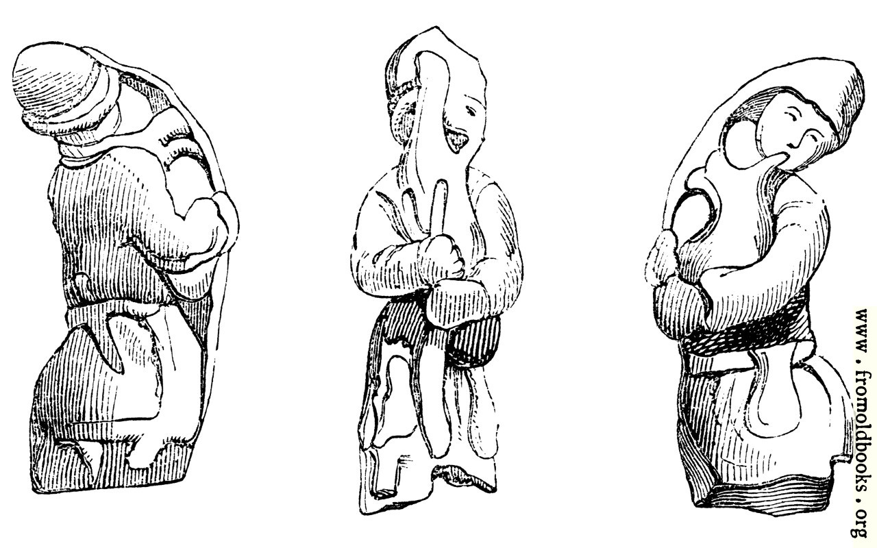 [Picture: 102.—Bronze, found at Richborough.]