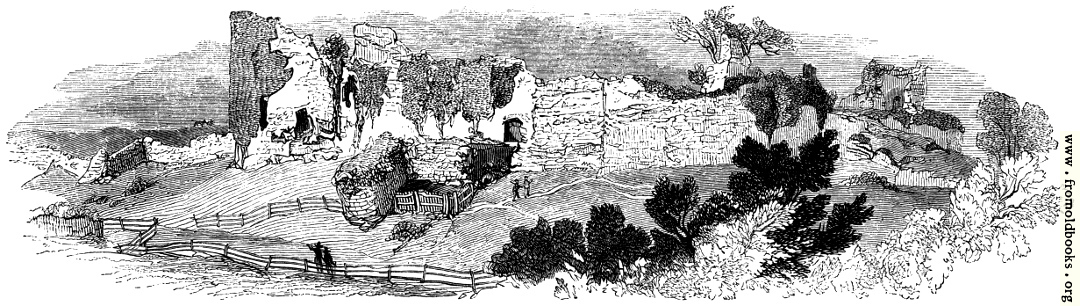 [Picture: 105.—General View of the Ruin of Pevensey Castle.]