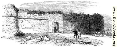 [Picture: 107.—Walls and Gate, Pevensey.]