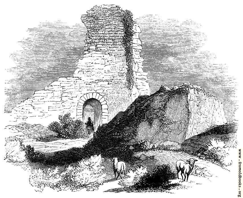 [Picture: 109.—Supposed Saxon Keep, Pevensey.]
