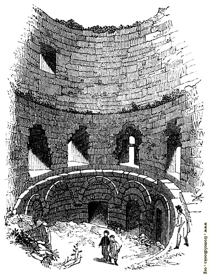 [Picture: 112.—Interior of Norman Tower, Pevensey.]