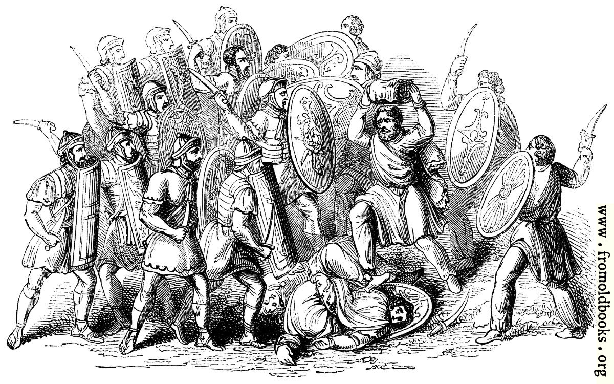 an analysis of barbarians and the germanization of the roman culture The roman army began providing pensions to retiring soldiers during the fall of the roman republic in the late first century bc competing roman leaders such as julius caesar, his great rival pompey magnus, caesar's nephew octavian, later known as augustus caesar, and his famous opponent marc antony all offered grand incentives to retain the loyalty of their soldiers.
