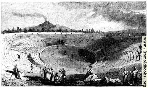 [Picture: 128.—Amphitheatre at Pompeii.]