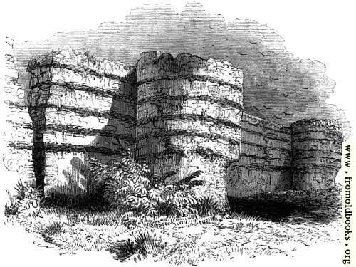 [Picture: 129.—Wall of Burgh Castle]