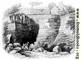 131.—Wall of Severus Near Newcastle-upon-Tyne.
