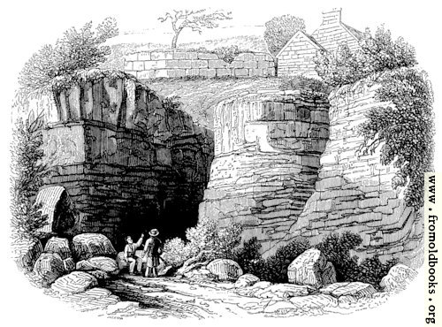 [Picture: 131.—Wall of Severus Near Newcastle-upon-Tyne.]
