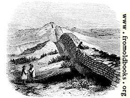 132.—Wall of Severus, near Housestead, Northumberland.