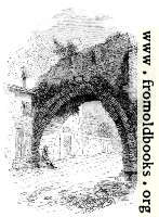 [Picture: 142.—Ancient Arch on Road leading into Rome.]