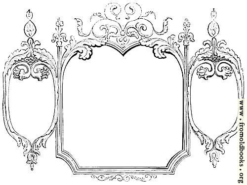 [Picture: 245 [detail].—Hand-drawn Victorian/rococo frame]