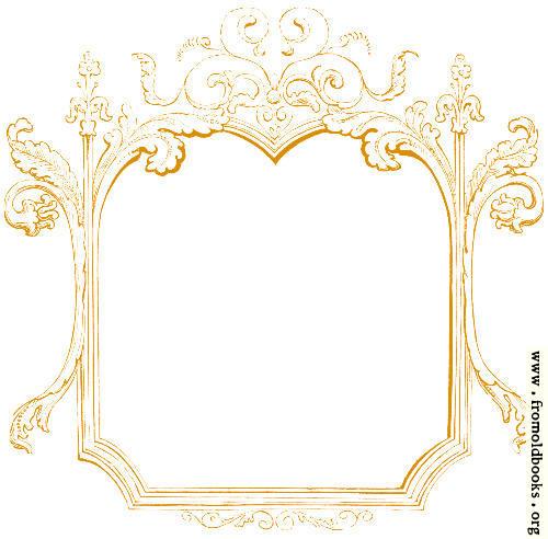 [Picture: 245 [detail].—Rectangular ornate sketched frame or border]