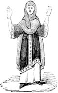 [Picture: 286.—Costume of a Saxon Woman.]