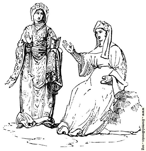 [Picture: 287.—Anglo-Saxon Females]