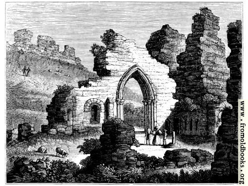 [Picture: 381.—St. Mary's Chapel, Hastings Cliff Castle.]