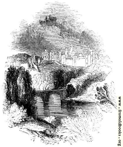 [Picture: 382.—Alnwick Castle.]