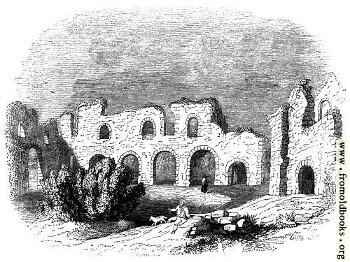 [Picture: 389.—Ruins of reading Abbey in 1721.]