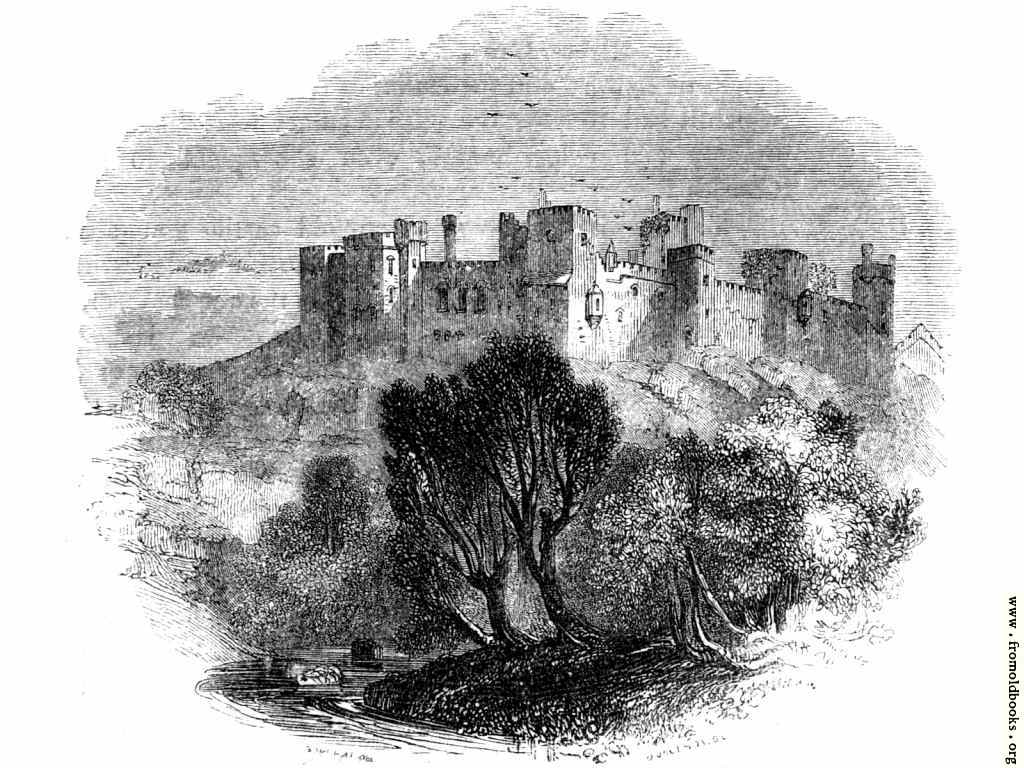 [Picture: Ludlow Castle from a distance]