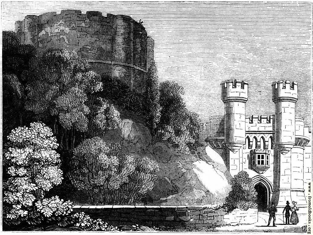 [Picture: 423.—Clifford's Tower, and Entrance to York Castle.]