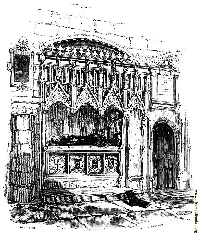 [Picture: 528.—Prior Rahere's Tomb.]