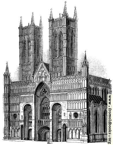 [Picture: 576.—Lincoln Cathedral.]