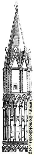[Picture: 580.– EEarly English Turret, Lincoln.]