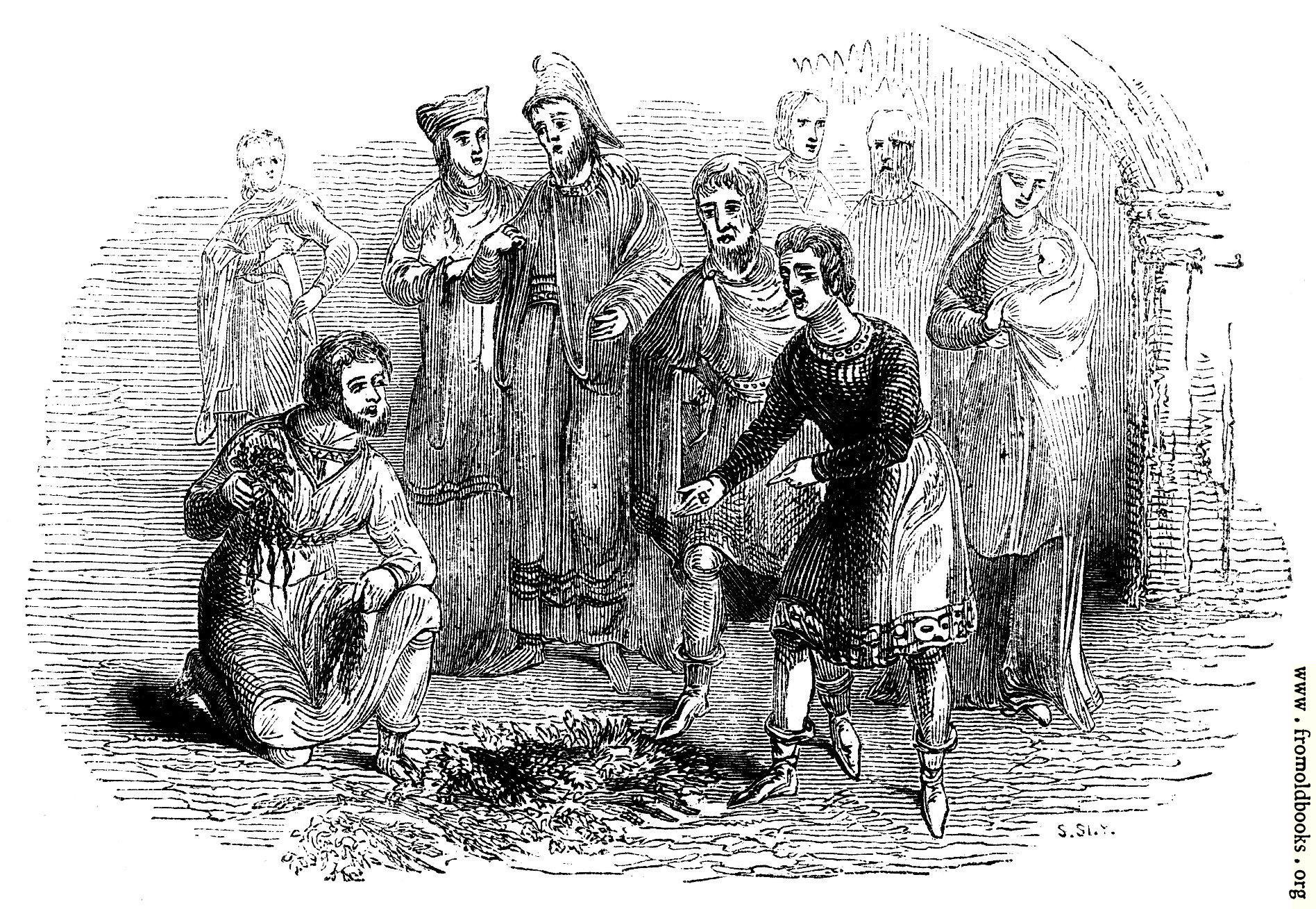 [Picture: 783.—Costume of the time of John.]
