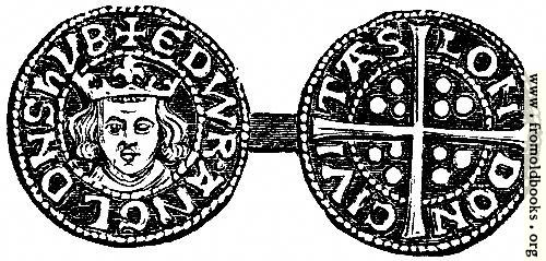 [Picture: 817.—Penny of Edward I.]