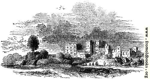 [Picture: 818.—Ruins of Kenilworth in the 17th Century.]
