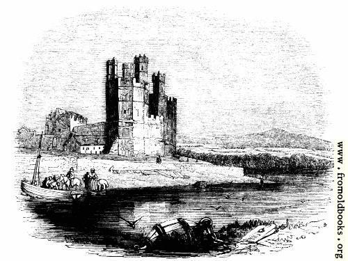 [Picture: 827.—Carnarvon Castle.]