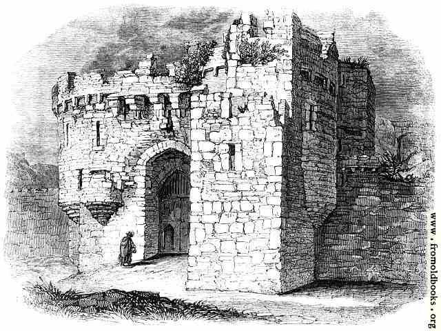 [Picture: Beamaris Castle: entrance]