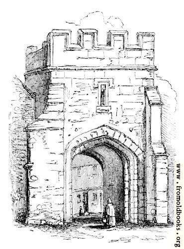 [Picture: 874.—Ancient Gate of Coventry]