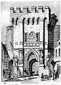 [Picture: 915.—Southampton Gate: North Front.]