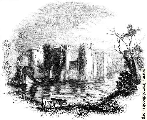 [Picture: 925.—Bodiam Castle, Sussex.]