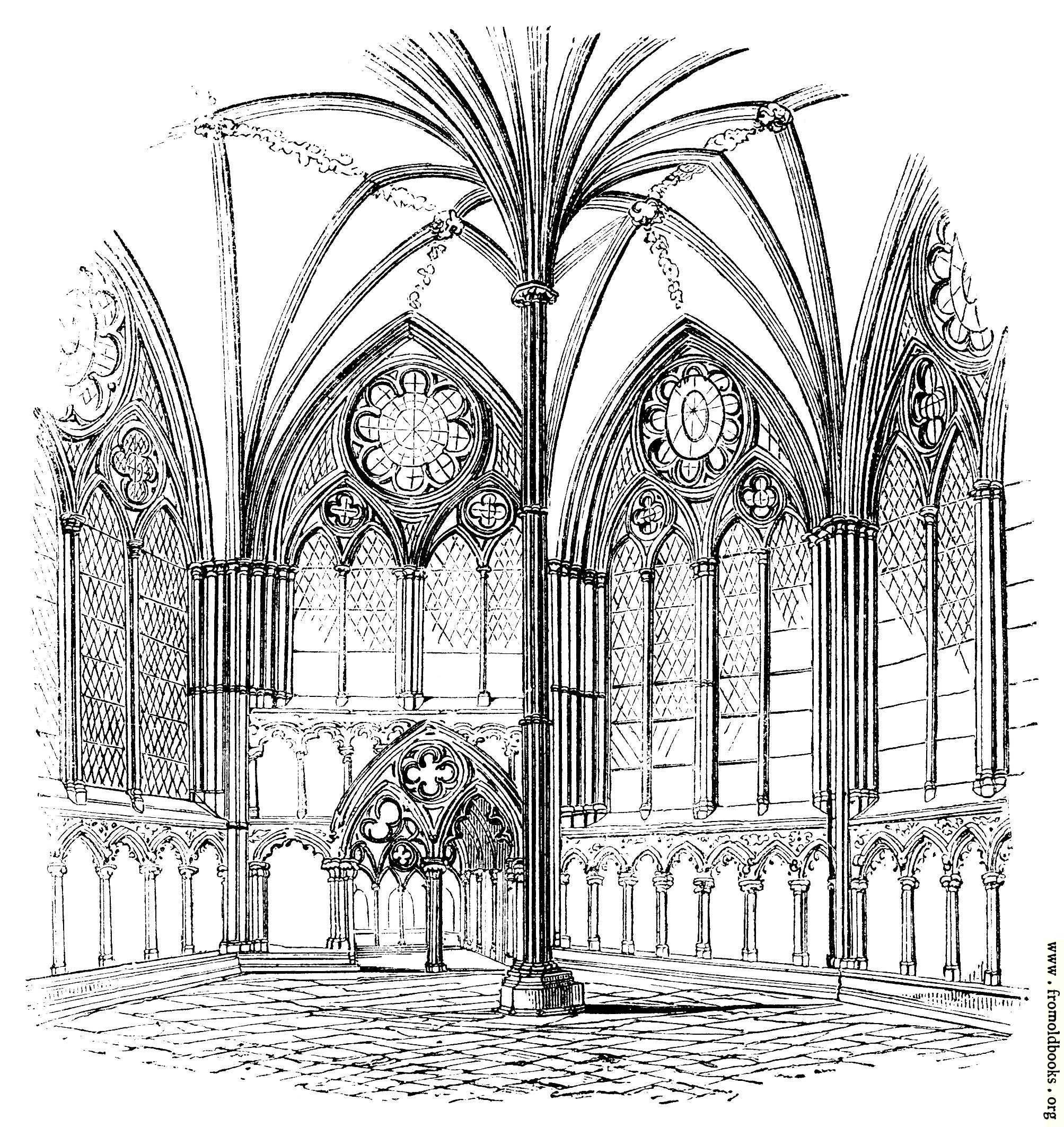 [Picture: 931.—Chapter House, Salisbury.]