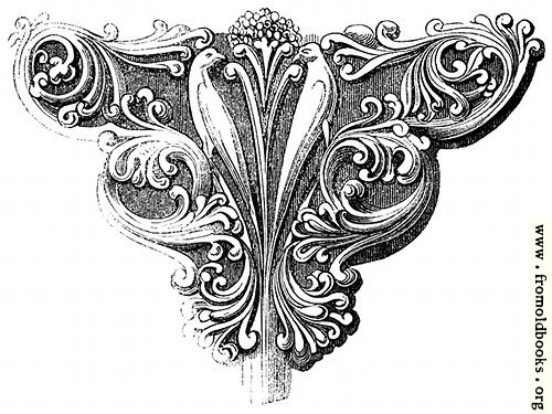 [Picture: 933.—Early English Foliage Bracket.]