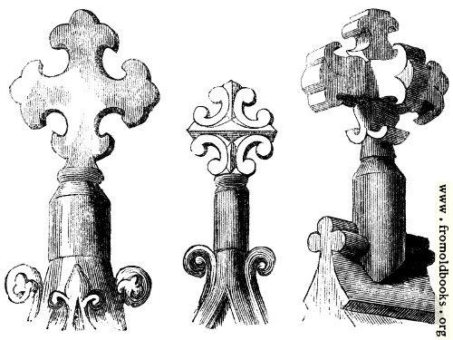 [Picture: 934.—Gable Crosses.]