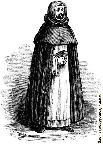 [Picture: 1029.—Dominican, or Black Friar]