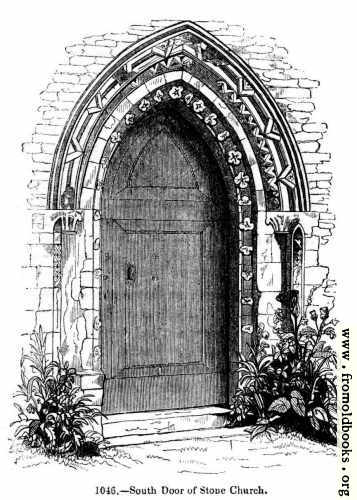 [Picture: Stone Church, south door]