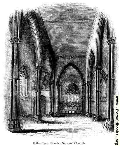 [Picture: Stone Church, Nave and Chancel]