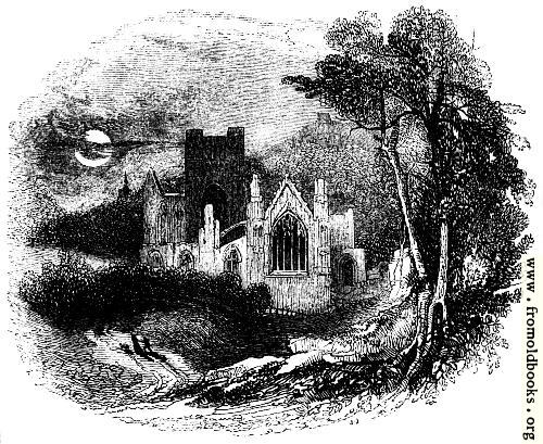 [Picture: 1058.—Melrose Abbey]