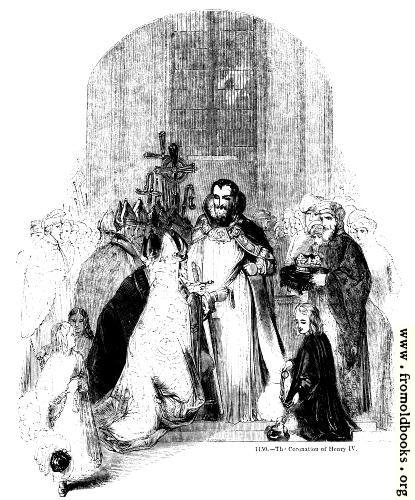 [Picture: 1150.—The Coronation of Henry IV]