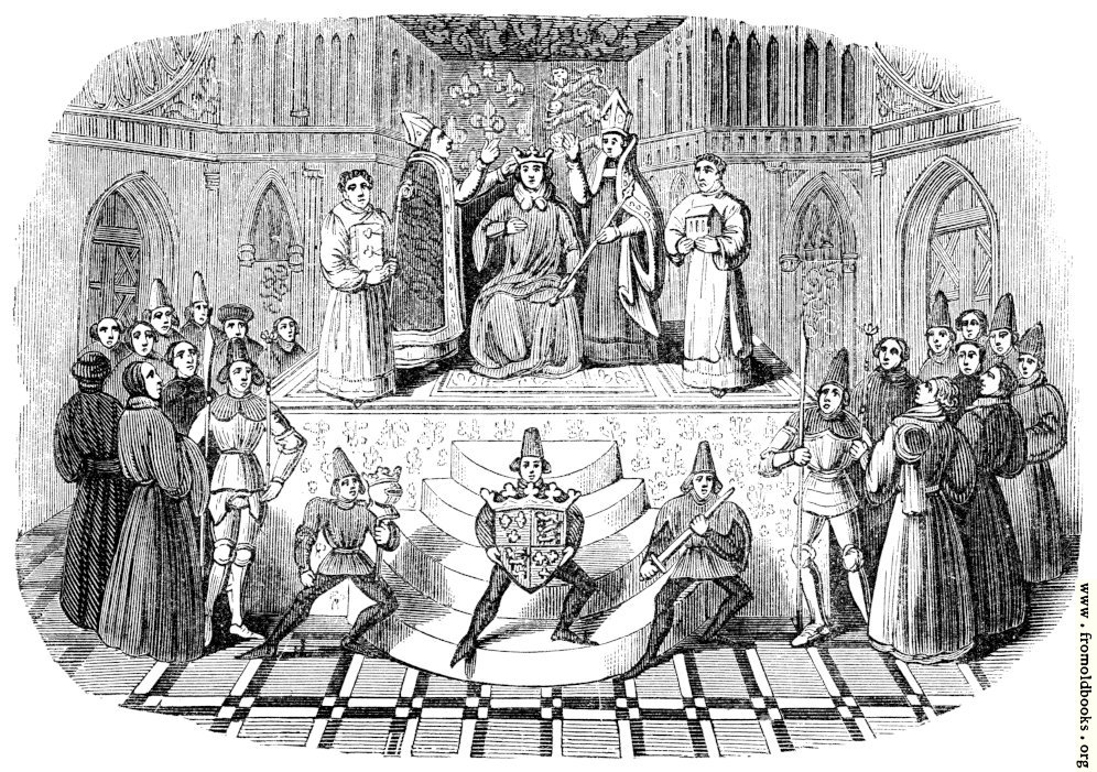 [Picture: Coronation of Henry IV (Harleian MS. No, 4679)]