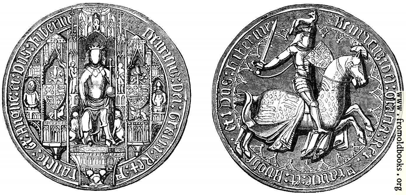 [Picture: 1152.—Great Seal of Henry IV.]