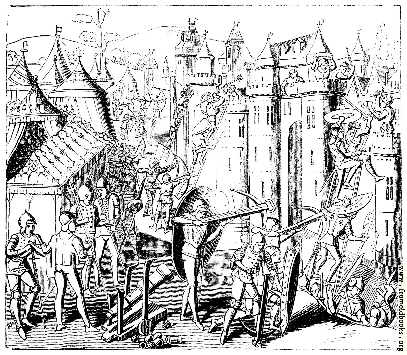 [Picture: 1251.—Storming a Fort. (Haeleian M.S. 4379.)]