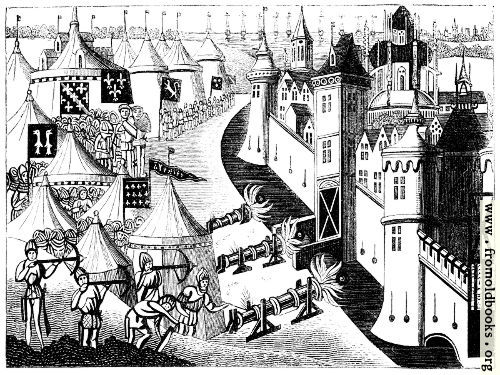 [Picture: 1252.—Siege of a Town.]