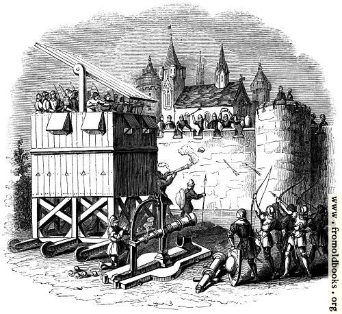 [Picture: 1274.—Moveable Towers of Archers, Cannon, etc.]